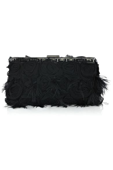 Valentino Feather Clutch by Valentino Glam And Feather Clutch Net A Porter