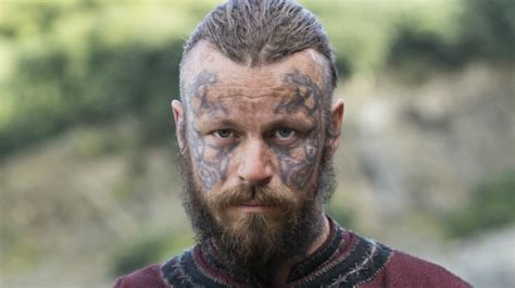 vikings king harald is a brutal threat to ragnar and