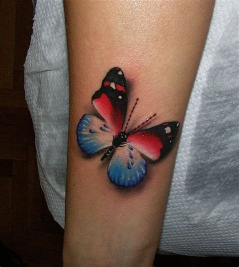 50 Amazing 3d Butterfly Tattoos 3 D Tattoos Butterfly