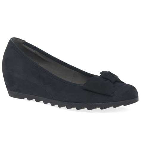 gable wedge heel shoes gabor shoes