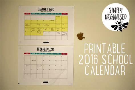 printable monthly calendar australia 2016 2016 australian public school holidays printable calendar