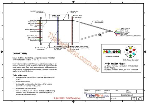 box trailer wiring diagram australia wiring diagram schemes