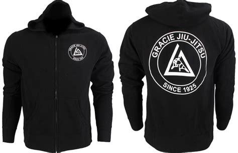 Jaket Hoodie Sweater Gracie Jiu Jitsu Academy gracie jiu jitsu gracie academy zip hoodie
