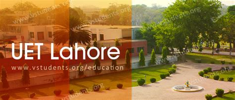 Uol Fee Structure For Mba by Uet Lahore Admission 2018 Last Date Entry Test And Fee