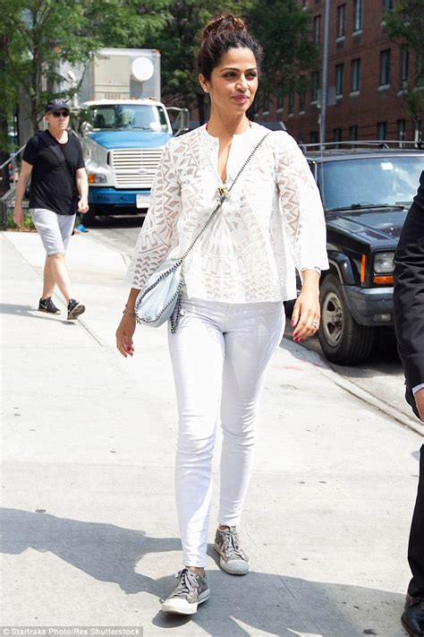 Matthew McConaughey's wife Camila Alves looks radiant in