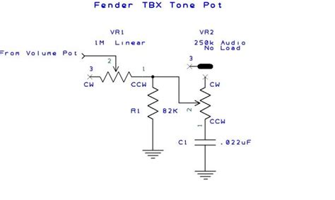 fender tbx wiring diagram efcaviation