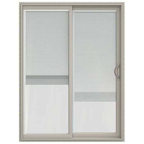 Jeld Wen 60 In X 80 In V 2500 Series Vinyl Sliding Patio Vinyl Patio Doors