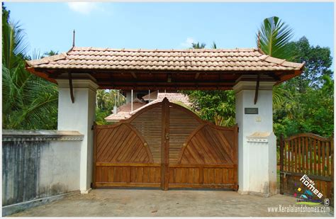 house gate design kerala compound wall designs images joy studio design gallery best design