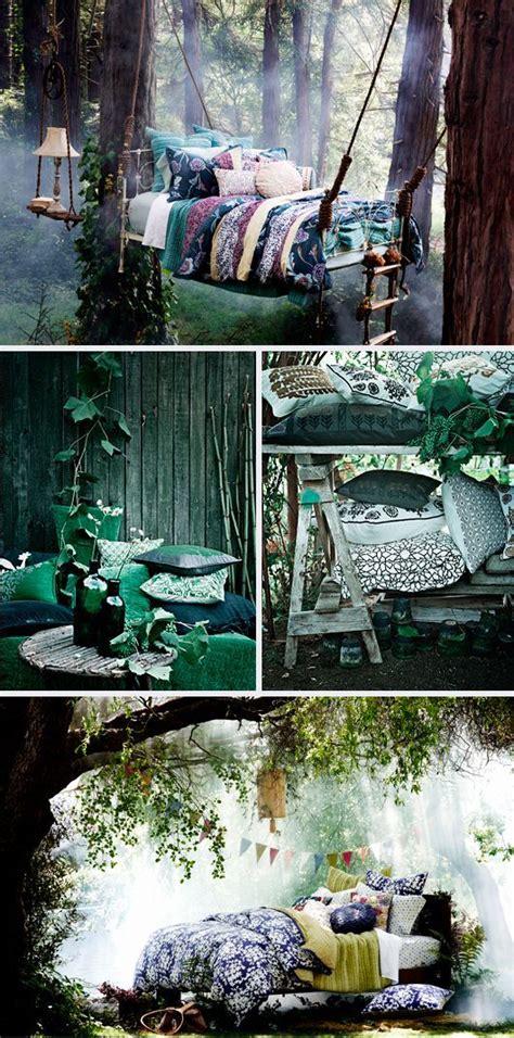 outdoor fairy beds inredning inredning sovrum traekoja