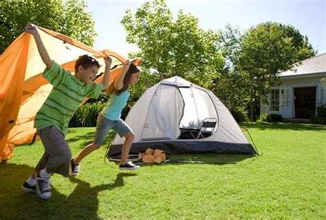 Camping In Your Backyard Backyard Summer Campout Checklist P Amp G Everyday P Amp G