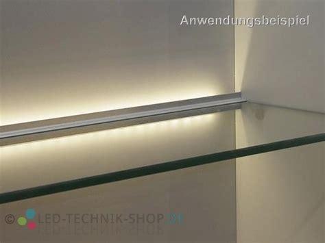 vitrinenbeleuchtung led aluminium profil lts 25 alu vitrinenbeleuchtung