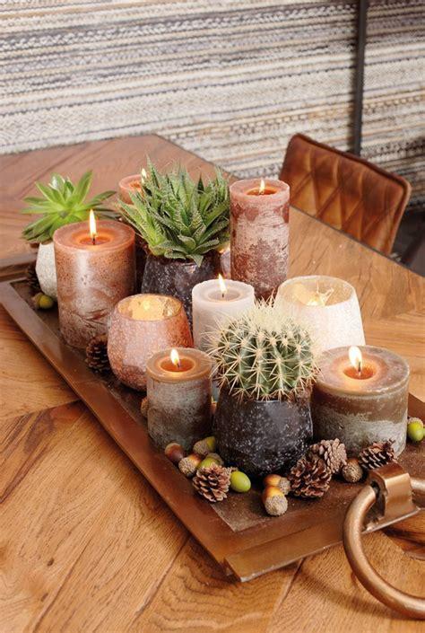 home decoratie kaarsen tray met kaarsen en theelichten home decor inspiration
