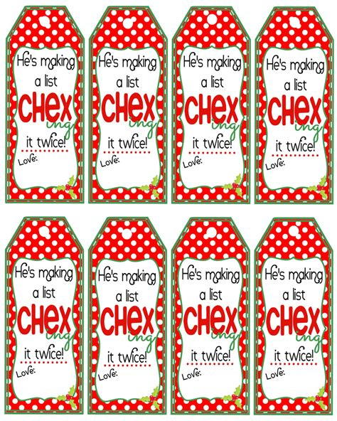 printable gift tags for neighbors chex mix christmas gift tags neighbor chex mix gift