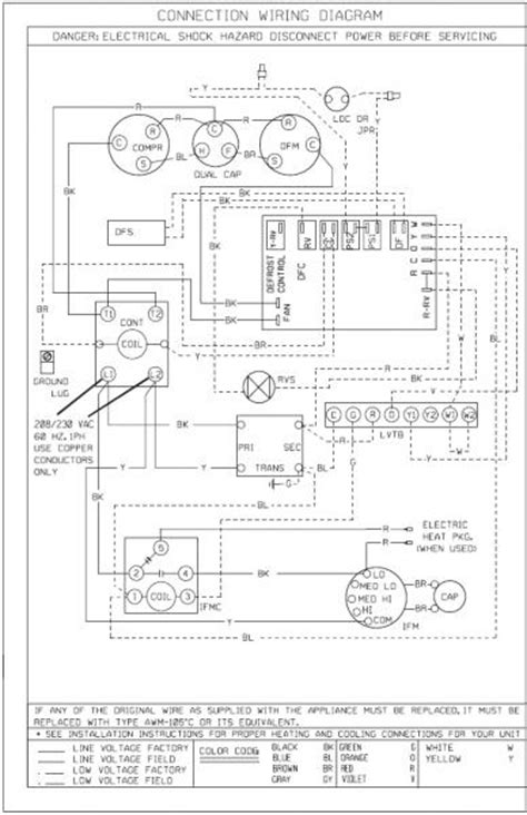 bard heat wiring diagram icp heat wiring diagram