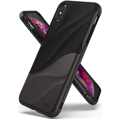 ringke wave iphone xs max szary d r o