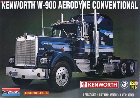 kenworth models list kenworth w 900 aerodyne conventional model car images list