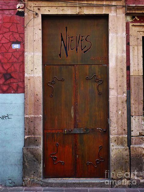 Mexican Door by Mexican Door 36 Photograph By Xueling Zou