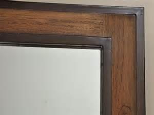 miroir salle de bain tablette bois solutions pour la