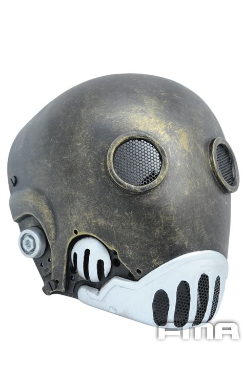 Fma Wire Mesh Mask Wolf 40 fma wire mesh quot hell jazz quot golden edition mask