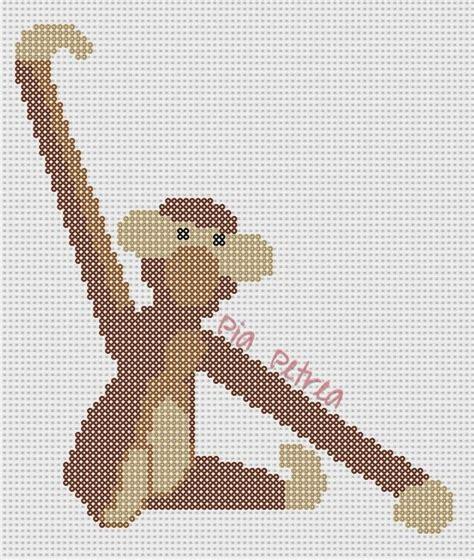 monkey pony bead pattern 475 best images about diy hama perler on