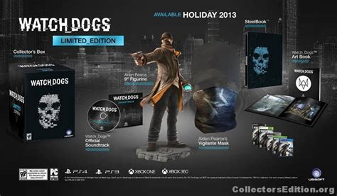 Bd Ps3 Kaset Watchdogs collectorsedition org 187 dogs limited edition ps4 americas