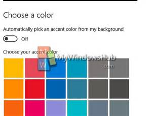 my change color change color of start menu taskbar and center in
