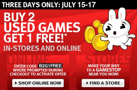Can You Buy Games Online With A Gamestop Gift Card - video game sale buy two get one free cnet
