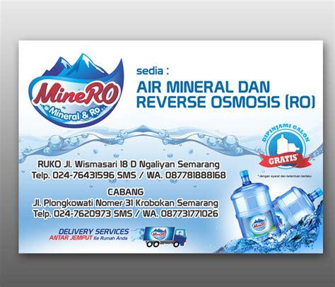 sribu desain banner desain spanduk  depo air amdk