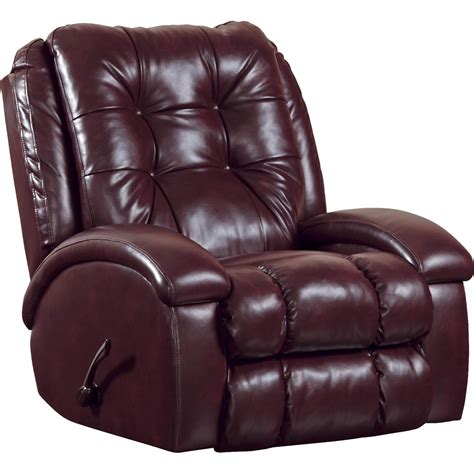 Rocker Recliner With Ottoman by Catnapper Bronson Rocker Recliner With Sized Ottoman