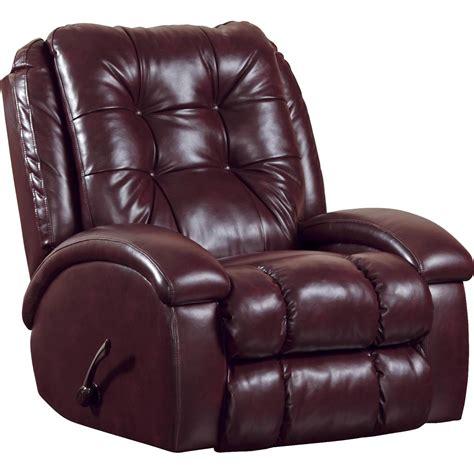 rocker recliner with ottoman catnapper bronson rocker recliner with over sized ottoman