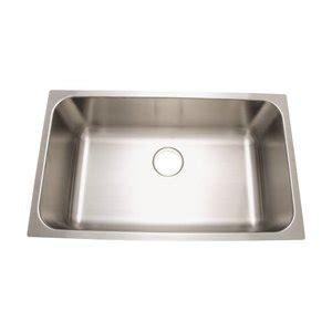 proflo stainless steel undermount sink pfus309 stainless steel undermount single bowl kitchen