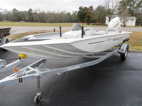 seaark guide boat sea ark bass boats for sale