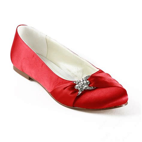 flat shoes fashion flat heels toe wedding bridal shoes