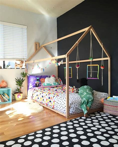 How To Make A Toddler Bed Frame 1000 Ideas About Toddler Bed Frame On Pinterest Floor Bed Frame Toddler Reading Nooks And