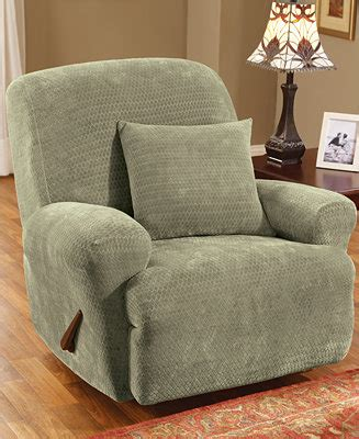 sure fit royal sofa slipcover sure fit stretch royal recliner slipcover