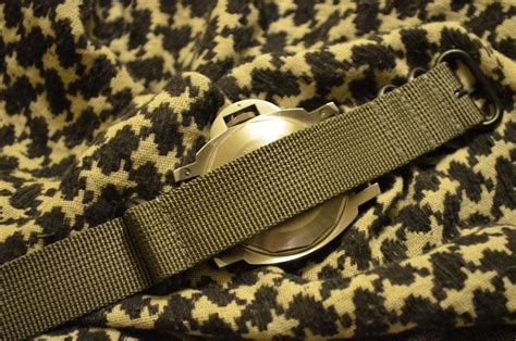 Nato Zulu 20mm correa nato zulu para reloj militar gris g10 20mm