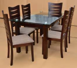 Design Kitchen Tables And Chairs Dining Table Designs In Wood And Glass Custom Home Design