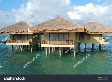 Palawan Cottages by Dos Palmas Resort Cottages In Palawan Stock Photo 52677859