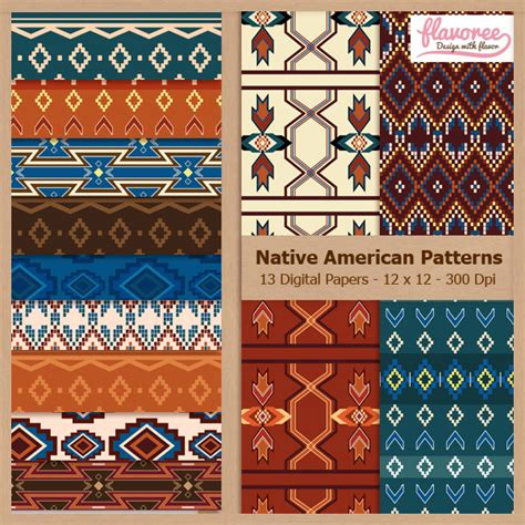 candlestick charts recent patterns of indian card clothing digital scrapbook paper pack native american patterns