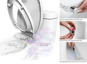 toilet seat with built in fan purefresh toilet seat has integrated fan and air freshener