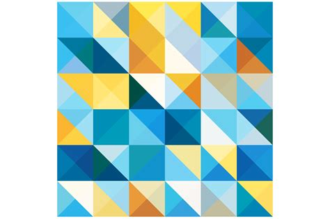 triangle pattern vector tutorial squares and triangles pattern patterns on creative market