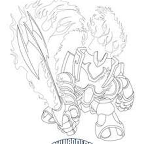 Kaos Back Print Baam coloriage skylanders giants coloriages coloriage 224