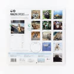 Calendar 2018 Wwf Amazing Species Wall Calendar 2018 Wwf
