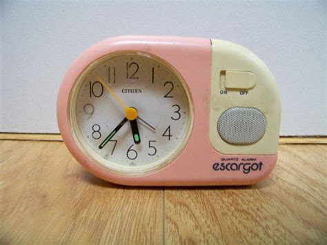 90s alarm clock pastel neon mini novelty from daizylemonade on