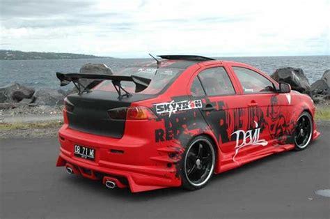 Shockbreaker Mobil Mitsubishi Lancer Modifikasi Mobil Mitsubishi Lancer Ex 2010 Motorized