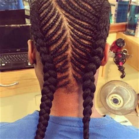 fishbone braids archives long hair guys