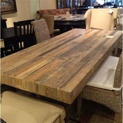 Ideas For Dining Room Table Decor Best 25 Reclaimed Wood Table Top Ideas On Pinterest