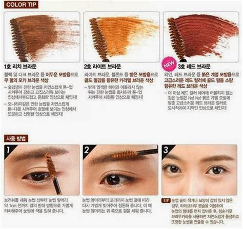 Harga Etude House Color My Brow angelkawai s diary etude color my brows 3 brown