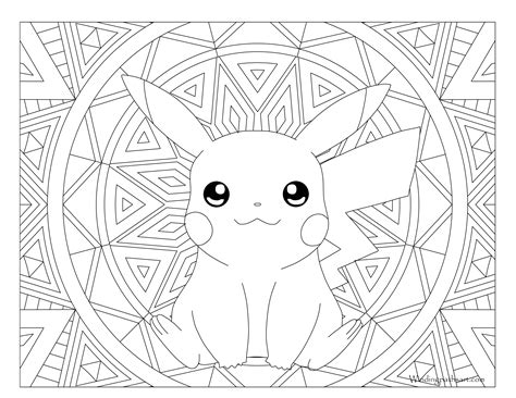 pokemon coloring pages for adults 025 pikachu pokemon coloring page 183 windingpathsart com