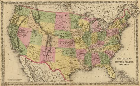 historical map of the united states united states map in turkish